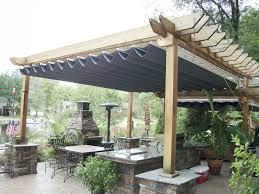 outdoor waterproof patio shades pergola design amazing deck pergola with canopy pergolas php