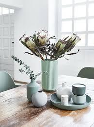 summer vibes die vase the lyngby im frischen mint sorgt für