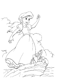 Skillful Design The Little Mermaid 2 Coloring Pages Return To Sea La