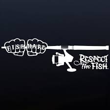 Fish Hard With Spin Reel Decal | Respect The Fish 2 Fish Skeleton Decals Car Sticker Fishing Boat Canoe Kayak Rodfather Funny Vancar Jdm Vw Dub Vag Euro Vinyl Decal Tancredy Go Stickers And Bumper Bass Truck Wall Window 1pc High Quality 15179cm Id Rather Be Fly Angler Vinyl Decal Fly Fishing Sticker Ice Hell When Freezes Over Ill Visit To Buy 14684cm Is Good Bruce Pinterest 2018 Styling Daiwa Brand And For Hooked On Outdoor Life Camping