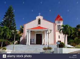 France Guadeloupe French West Indies Basse Terre Deshaies Church Of