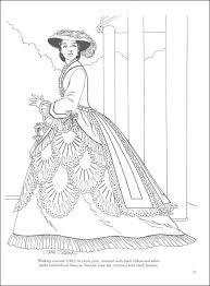 Dover Pubs Victorian Fashions Coloring Book