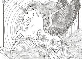 Cozy Design Unicorn Coloring Pages For Adults 11 Free Printable Adult