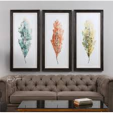 Perfect Decoration 3 Piece Framed Wall Art Pretty Design Brayden With Most Current Abstract