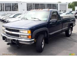 1998 Chevrolet C/K 2500 K2500 Regular Cab 4x4 In Indigo Blue ... 1998 Chevrolet Silverado 3500hd Dump Body Truck Item I8236 3500 For Sale Nationwide Autotrader Chevrolet C7500 In Michigan E30400 Ck1500 Sale 2169529 Hemmings Motor News C K 1500 Questions I Have A 97 Chevy K1500 Extended Cab By Owner Salem Or 97313 Ck Truck Amazoncom Rough Country 1307 2 Front End Leveling Kit Automotive Used Trevor Wi 53179 Davis Auto Sales Certified Master Dealer In Richmond Va Rust Free Trucks For Ultimate Rides Classiccarscom Cc63103