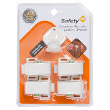Magnetic Lock Kit For Cabinets by Safety 1st Complete Magnetic Locking System 4 Locks 1 Key