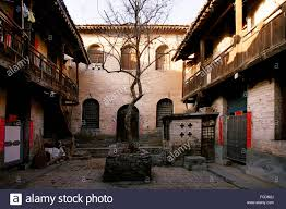 100 Court Yard Houses Yard Houses Shanxi Province China Stock Photo 93729626 Alamy