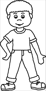 Boy Coloring Page Coloringpages Wecoloringpage Pages Of Animals