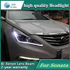 car styling l for hyundai sonata 2011 2014 headlights