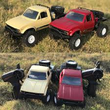 100 Rock Crawler Rc Trucks RC Car 116 24GHz 4WD RC Off Road Semi Truck Car With