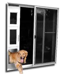 Patio Door With Windows Patio Pet Doors by Wedgit