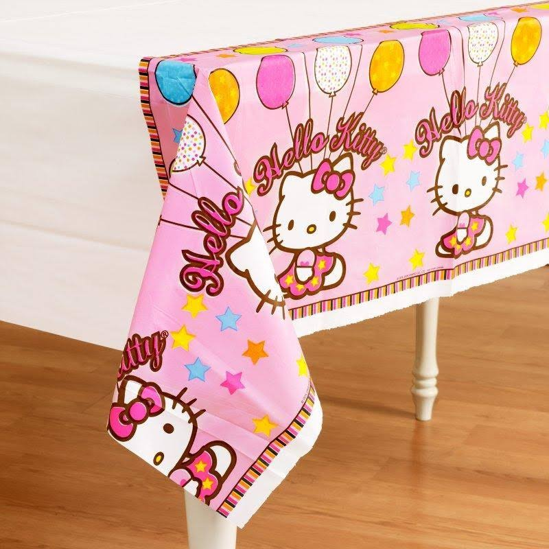 Hello Kitty Balloon Dreams Table Cover