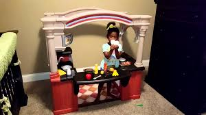 Step2 Grand Luxe Kitchen Toys by Step2 Grand Walk In Kitchen Kid Review Youtube