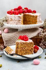 veganer kokos carrot cake