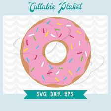 Donut svg donut dxf donut eps donut stencil donut clip art donut illustration donut transfer