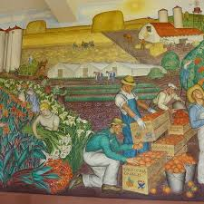 california agriculture by maxine albro picture of coit tower