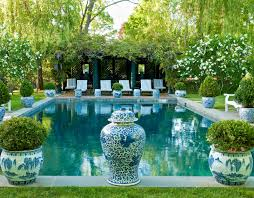 I Love All The Decorating With Spring Planters And Urns That Im Seeing This Season From Preppy To Classic Old World Global Styles There Is