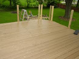 my experience with menards ultradeck reversible composite decking