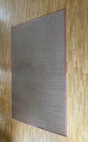 bambusteppich braun 120cmx180cm für bad und wohnbereich