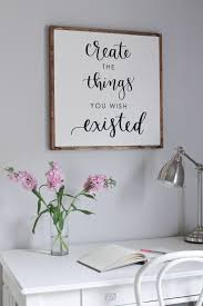 Cubicle Decoration Ideas For Engineers Day by Diy Wood Sign With Calligraphy Quote Diy Signs Diy Wood And