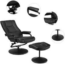 schwarz drehsessel wohnzimmersessel relaxstuhl für