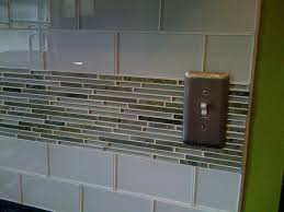 mosaic glass tile backsplash ideas kitchen contemporary installing