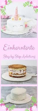 einhorntorte mit step by step anleitung a matter of taste