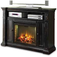 Cherry Brown Electric Fireplace TV StandSave 10099999 Rustic Black And Stand Manchester