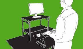 Portable Standing Laptop Desk Portable Standing Desk At