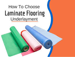 Floating Floor Underlayment Basement by How To Select Underlayment For Laminate Flooring
