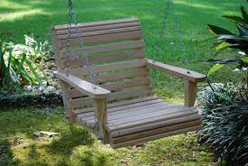 Bench Patio Swing Costco Outdoor Swing Bed Wooden Porch Swing