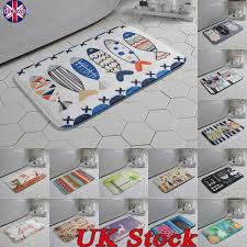 Details About UK Cartoon Soft Flannel Area Rug Round Bedroom Carpet Living Room Floor Mat Pad