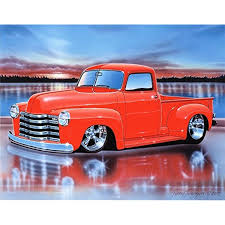 1949 49 Chevy 3100 Pickup Hot Rod Truck Art Print Brite Orange 11x14 ... 1949 Chevy Pickup 22 Inch Rims Truckin Magazine Chevygmc Truck Brothers Classic Parts Chevrolet 4400 Flatbed For Sale On Bat Auctions Sold Rick Jones Slows Things Down With Modernized 49 Built By Dp News Schott Wheels Hot Rod Network Stance Works Larry Fitzgeralds 3100 Pickup Pickup_love This Red Interior Adrenaline Capsules
