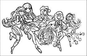 Coloring Pages Friendship Is Magic