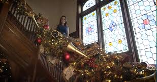 The Design Tourist Karen LeBlanc Takes A Holiday Tour Of Stetson Mansion