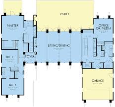 104 Contemporary Modern Floor Plans House Plan 81203 Style With 2557 Sq Ft