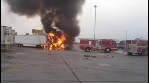 100 Truck Stops California Two Big Rigs Catch Fire At TA Stop In Coachella KESQ