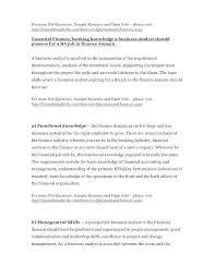 Business Banker Resume Banking Examples Investment Example Relationship Manager