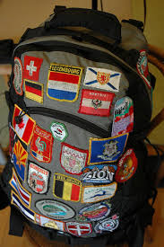 Travel Packing Backpack Patch