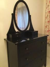 schlafzimmer kommode ikea kommode schwarzbraun hemnes mit