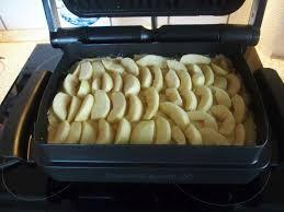 apfelkuchen mit dem optigrill bauchladenblog