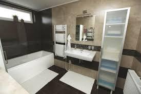 Beige Bathroom Design Ideas by Brown And White Tile Bathroom Brightpulse Us