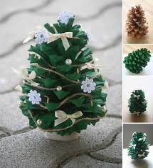 Saran Wrap Christmas Tree With Ornaments by 16 Absolutely Adorable Diy Christmas Decorations Organics