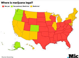 states pot is here s a map of every state and their marijuana laws