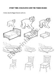 Goldilocks And The Three Bears - Kindergarten/ Preschool ... 3d Printed Goldilocks And The Three Bears 8 Steps Izzie Mac Me And The Story Elements Retelling Worksheets Pack Drawing At Patingvalleycom Explore Jen Merckling Story Of Goldilocks Three Bears Pdf Esl Worksheet By Repetitor Dramatic Play Clipart Free Download Best Read Aloud Short Book Video Stories Online Kindergarten Preschool
