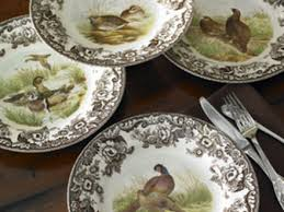 Rustic Lodge Style Dishes And Dinnerware For A
