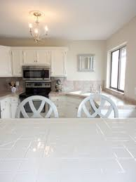 kitchen livelovediy how to paint tile countertops installing