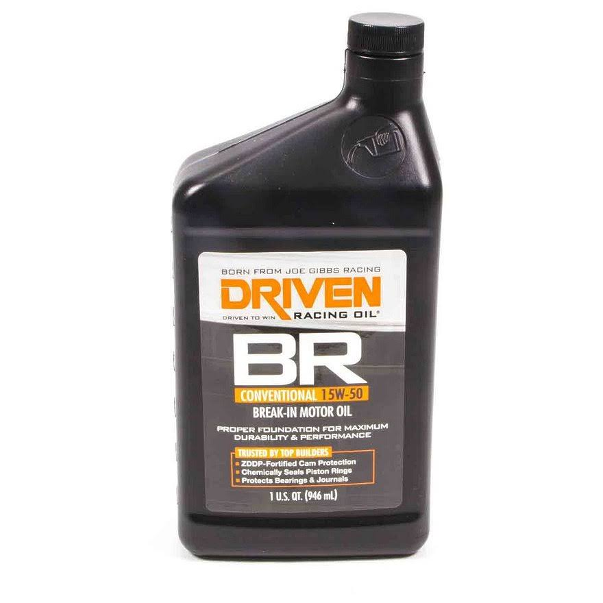 Driven Racing Oil DRV00106 BR Break-In Motor Oil - 1qt