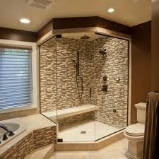 bathroom shower remodel ideas wooden wall mounted cabinets cool