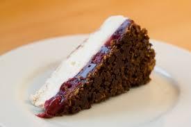 kirsch vanille torte chocolate river